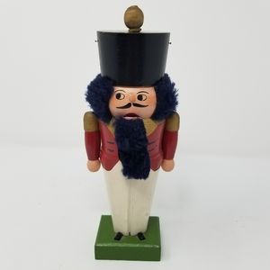 2/$20 Vintage Wooden Toy Soldier Nutcracker